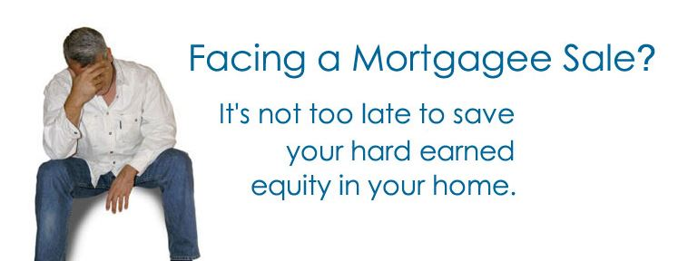 Facing Mortgagee Sale