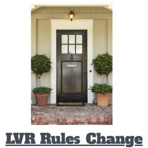What The Changes To The LVR Restictions Mean